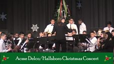 Acme Delco Middle / Hallsboro Middle Christmas Concert
