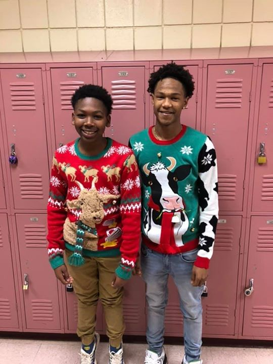 Rocking Christmas Sweater Day