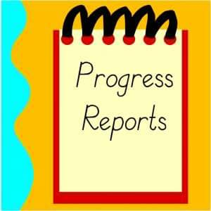 Due to printing issues, progress reports will be sent home t...