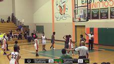 South Columbus at East Columbus Varsity Basketball