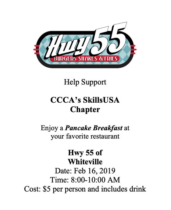Thank you to everyone who attended our McDonald's night! We have another awesome opportunity for you to show your support. Please come out and enjoy some delicious pancakes.🥞🥞