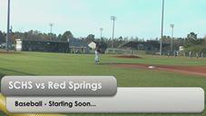 South Columbus vs Red Springs Varsity Baseball