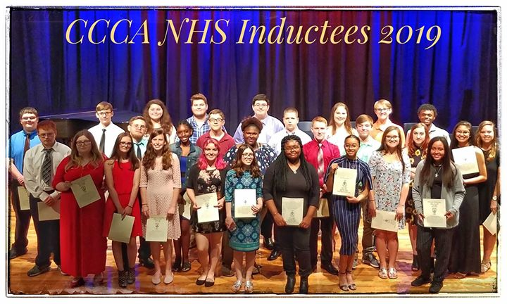 A huge congratulations to our 2019 National Honor Society Inductees! You all have worked very hard for this honor!  Awesome job!