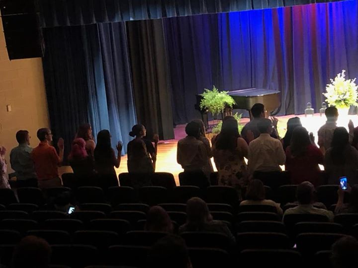 Congratulations to the newest members of the National Honor Society! #CCCAPride