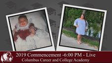 2019 CCCA Garduation will be streamed live at 6 PM!
