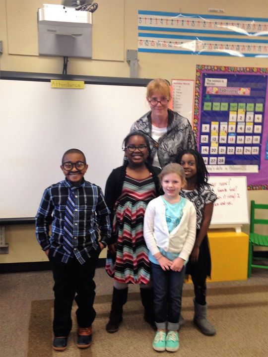 Students in Mrs. Barnhill's class are 100 days smarter as th...
