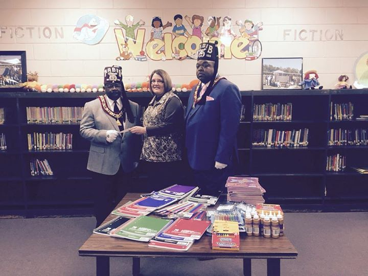Chadbourn Elementary School would like to thank the Shriners...