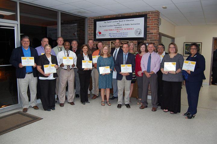 During the November School Board Meeting, several schools we...