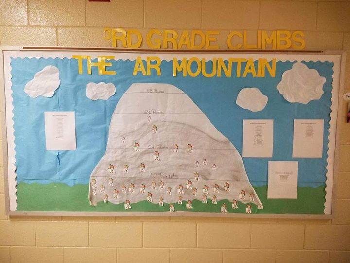 Our 3rd graders are climbing the mountain to Accelerated Rea...