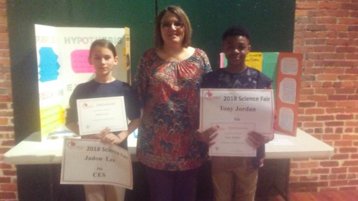 Congratulations to our 5th Grade Science Fair Winners: 1st P...