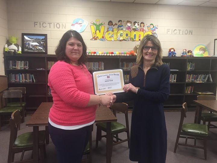 Mrs. Jamie Ford recently received a $500 Going Local Grant f...