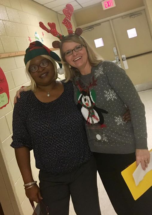 Santa's elf and reindeer are spreading Christmas cheer!