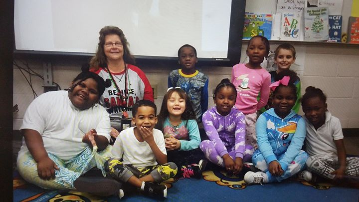 Mrs. Duncan's students dressed in their pajamas and enjoyed ...
