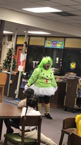 CES Superstars received a surprise visit during the Class Do...