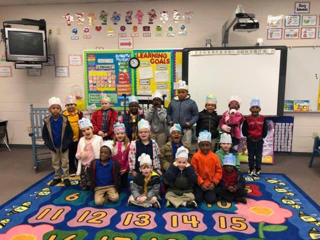 Our Superstars were excited to celebrate the first 100 days ...