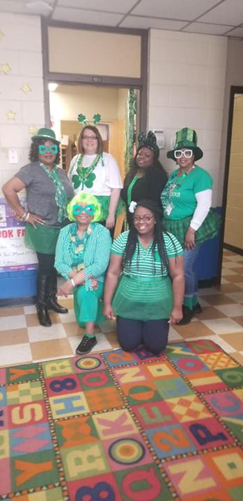 Our Superstar Staff shared some good luck, laughter and love...