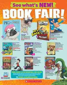 Spring 2019 Scholastic Book Fairs Booklist