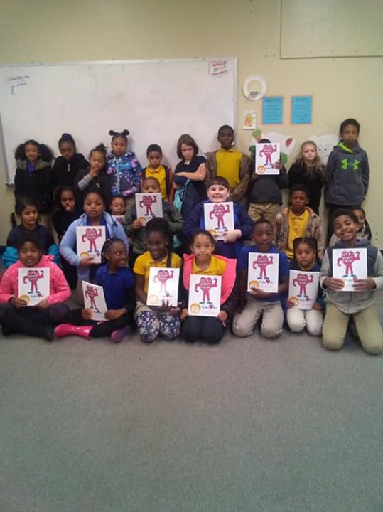 Our 2nd grade Superstars collaborated and used their health,...