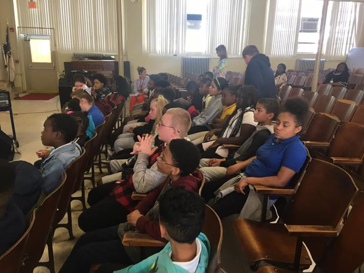 Our 5th Grade Superstars recently visited Evergreen Elementa...