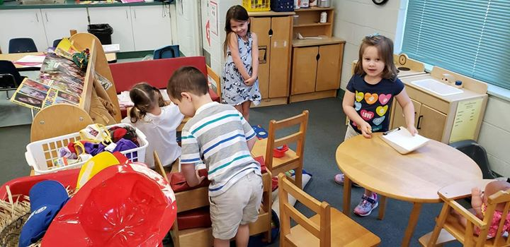 """People think all we do in pre-K is """"play""""! We are LEARNING t..."""
