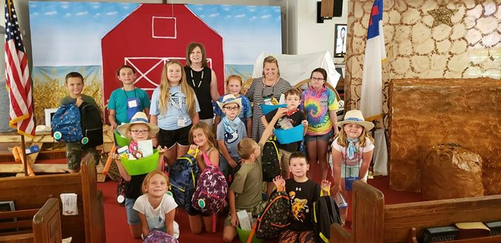 Thank you Mishop Springs UMC VBS mission project for donatin...