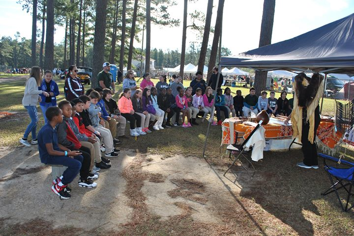Evergreen's trip to the Waccamaw Siouan Pow Wow.  Among othe...