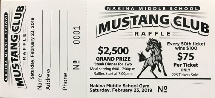 It's time again for the annual NMS Reverse Raffle on Saturda...