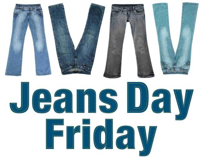 Friday, November 9, students and staff are allowed to wear j...