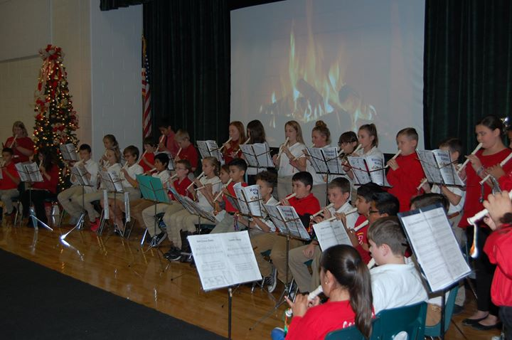 Old Dock Elementary's 5th grade music students performed sev...