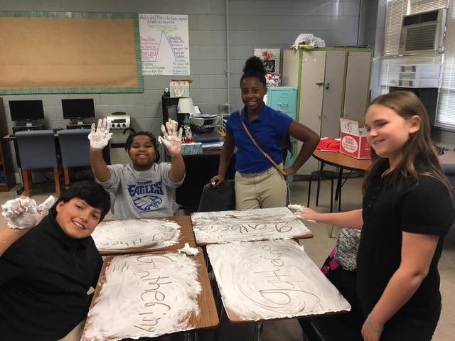 LEARNING IS FUN!  Ms. Wallace's 6th grade Language Arts stud...