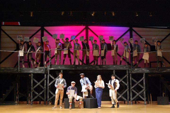 "West Columbus High School will present the musical ""Newsies""..."