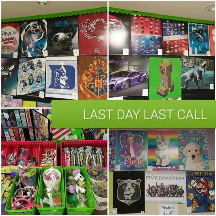 LAST DAY of the Williams Township Elementary Book Fair... LA...
