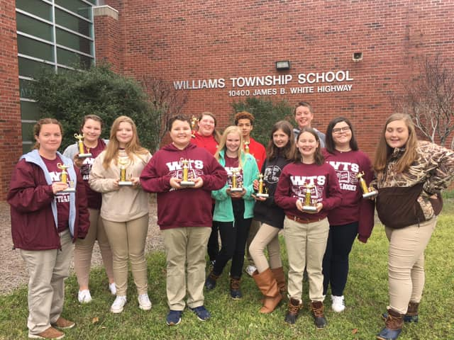 Congratulations to WTS Battle of the Books team! They won 3r...