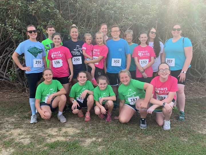 Congratulations to the WTS girls on the run! They ran a 5k t...