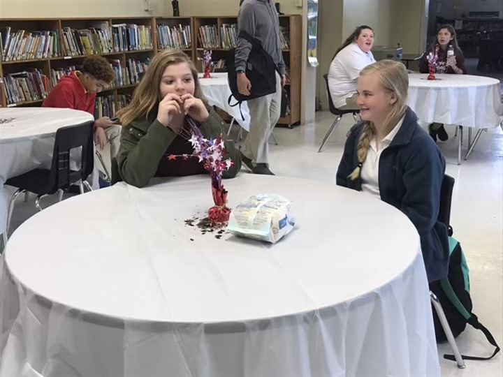 The WTS Battle of the Books celebrated their achievements th...