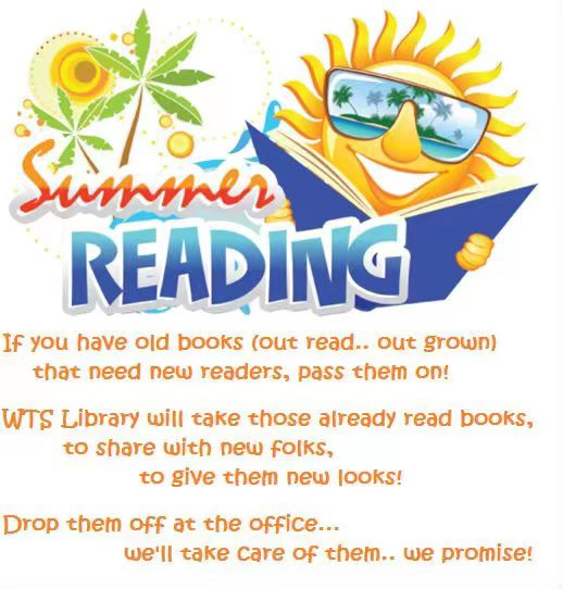 Students will be picking out a book to take home for summer ...